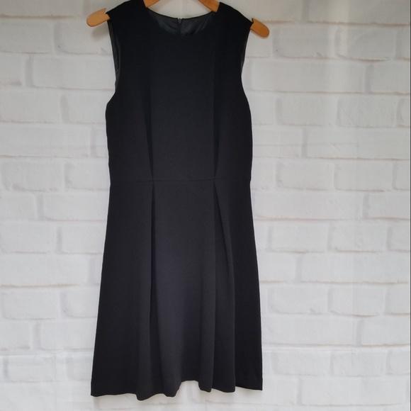 Zara Dresses & Skirts - Zara Basics Sleeveless Black A-Line Dress ~LBD!